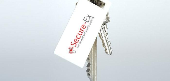 secure-EX-Schlüsselbund