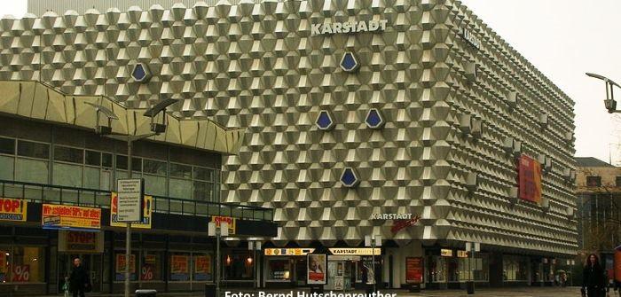 Einbruch ins KARSTADT-Warenhaus Dresden
