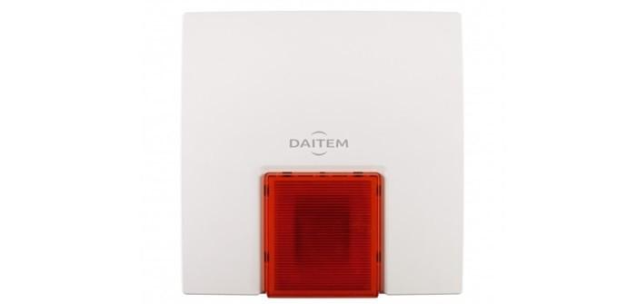 Außensirene zur Daitem-Alarmanlage
