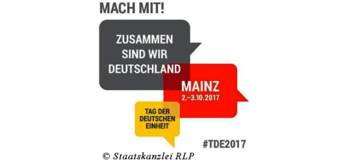 Tag der deutschen Einheit 2017 in Mainz